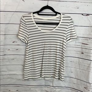 a new day Striped T- Shirt